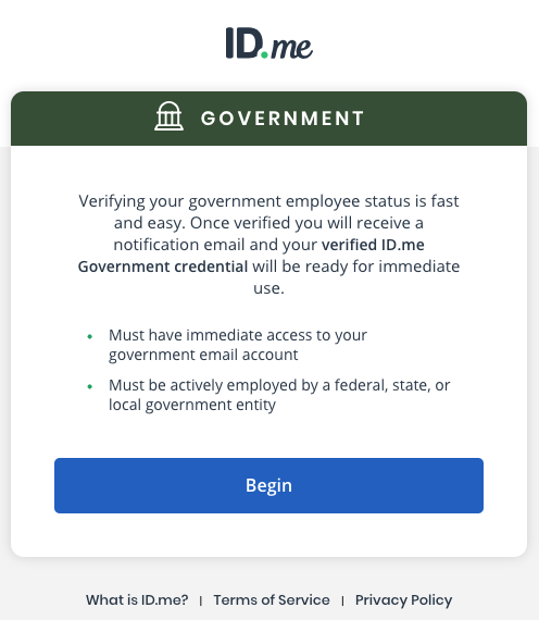 Government realtime